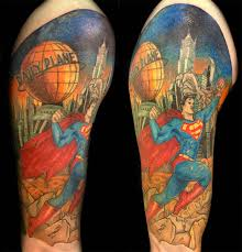100 wonderful superman tattoos
