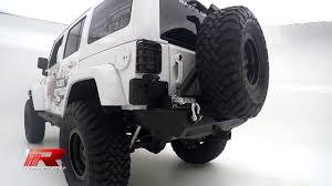 jeep rear bumper with tire carrier razer auto 07 16 jeep wrangler jk extreme rear bumper w tire