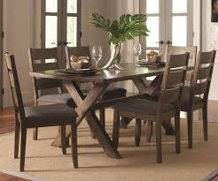 alston 7 piece dining set andrew u0027s furniture and mattress