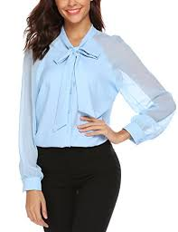 light blue button down shirt women s lomon women s casual patchwork blouse chiffon button down shirt tops