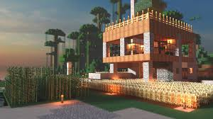 modern farmhouse minecraft render minecraft house pinterest