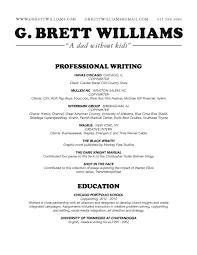 Copywriting Resume Resume G Brett Williams Do You Copy