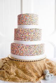 big wedding cakes sprinkle wedding cakes brides