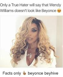 Wendy Williams Memes - only a true hater will say that wendy williams doesn t look like