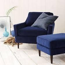 Best  Blue Velvet Chairs Ideas Only On Pinterest Blue Living - Blue living room chairs