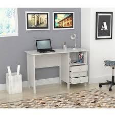 laura computer desk with hutch inval laura collection computer desk laricina white finish