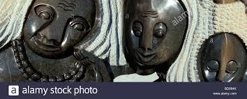 Zimbabwe Soapstone Carvings Shona Sculpture Shona Art Zimbabwe Africa Stock Photo Royalty