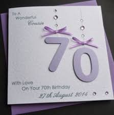 the 70th decade birthday card is sure to make the recepeint smile