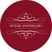 40 year anniversary gift anniversary wording ideas archives anniversary ideas