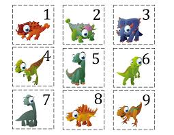 ten terrible dinosaurs printable updated added more puppet sticks