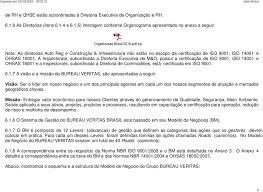 bureau veritas brasil 1 objetivo 2 aplicação 3 atribuições e responsabilidades 4