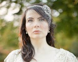 floral headband birdcage veil vintage style pearl floral headband elaine jules