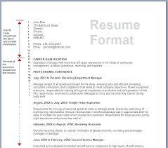 resume format tips best resume format resume format luxury resume format
