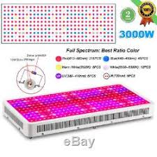 what color light do plants grow best in 3 3000w led grow light panel full spectrum l for hydroponics