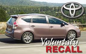 toyota recall 2014 2014 2015 toyota prius v being recalled for non deploying airbags