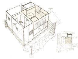 modern japanese houses with house floor plans 2d plan design