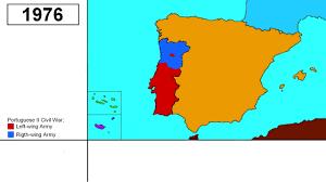 Iberian Peninsula Map Alternate History Of Iberia Peninsula Ep 01 Portuguese Red