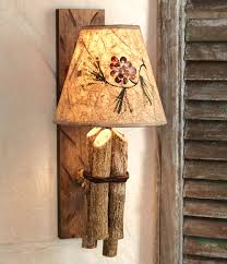 Wall Sconce Lamp Shades Wall Lights Amazing Rustic Wall Sconce 2017 Gallery Log Cabin
