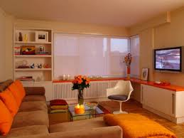 ideas cool orange living room decorations grey and orange living