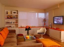 ideas cool orange living room decorations grey and orange living