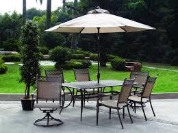 Hampton Bay Woodbury 7 Piece Patio Dining Set - chair halo home depot patio chairs reclining lawn chair home