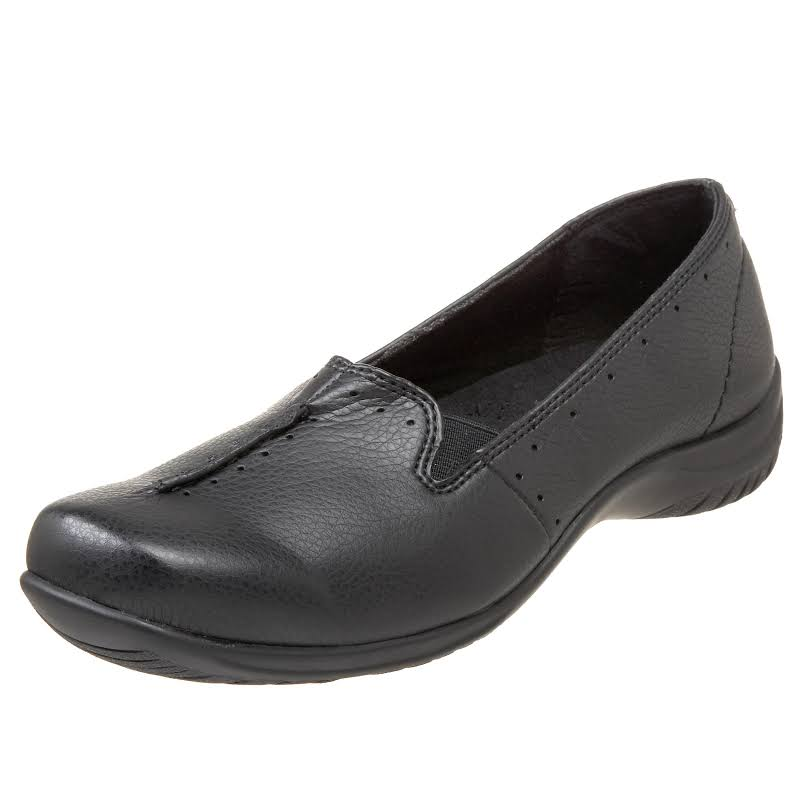 Easy Street Purpose Closed Toe Loafers, Black,