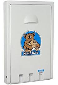 Koala Kare Changing Tables Koala Kare Kb200 Horizontal Wall Mounted Baby Changing