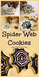 the trick for making spider web cookies it u0027s easier than you