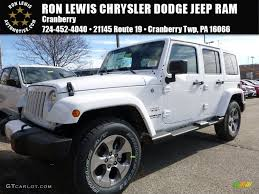 white and black jeep wrangler 2016 bright white jeep wrangler unlimited sahara 4x4 108374937