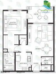 St Regis Residences Floor Plan by 1 Bedroom Type B Unit Floor Plan Saadiyat Beach Residences