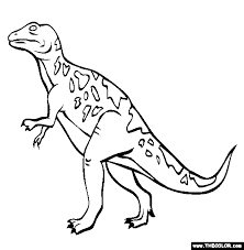 dinosaur coloring pages 1