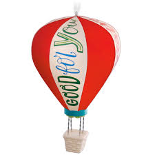air balloon celebratory ornament keepsake ornaments hallmark