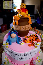 winnie the pooh baby shower cakes wonderful winnie the pooh baby shower cake between the pages