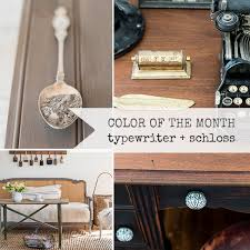 color of the month typewriter schloss miss mustard seeds