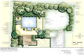Landscape Backyard Design Ideas Atlanta Landscaping Plans