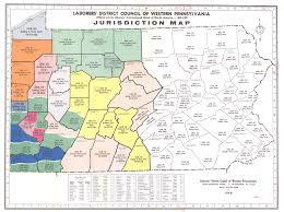 Map Of Western Washington Ah What The Heck Western Pa Vs Ny Pittsburgh Washington