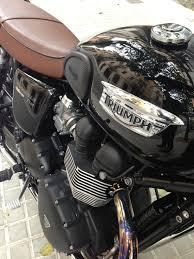 triumph bonneville t100 black motorcycles pinterest triumph