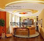 POP ceiling designs with lights for living room