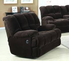 recliner sectional chocolate exhilaration oversized power recliner
