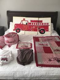 Firefighter Nursery Decor Firetruck Themed Nursery As Inspiration For A Fireman
