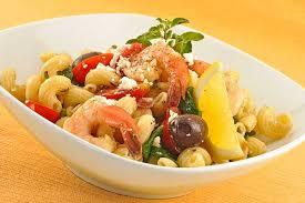 Mediterranean Style Food - mediterranean pasta salad with shrimp recipe mygourmetconnection