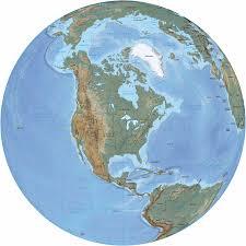 united states globe map america in the globe united states canada bahamas