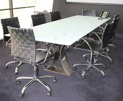 Frosted Glass Conference Table Frosted Glass Conference Table For Sale In Houston Tx Item