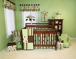 Monkey Baby Bedding For Boys Themes For Baby Nurserys Green Theme Baby Room Decor For Your