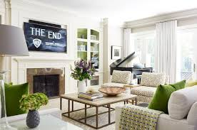 Decor Pad Living Room by Painted Built Ins Transitional Living Room Munger Interiors
