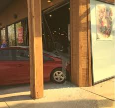 pier one floor ls car crashes through window at pier 1 imports store near park city