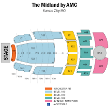 Comedy Barn Seating Chart Midland Theater Kansas City Seating Chart October 22 Tickets