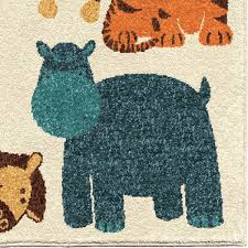 Kids Animal Rugs Orian Rugs Kids Court Safari Rugs Rugs Direct