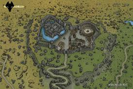 Oblivion Map The City Of Kvatch The Imperial Library