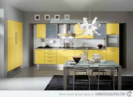 gray and yellow kitchen ideas 15 yellow modular kitchen ideas home design lover